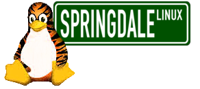 PUIAS Penguin / Springdale Street Sign